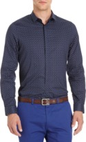Paul Smith Dot & Star Print Slim Fit Shirt