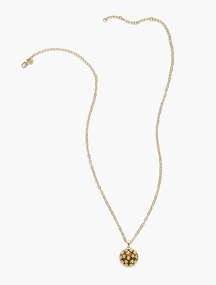 Talbots Ditsy Floral Pendant Necklace