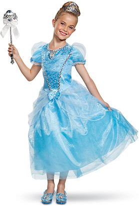 Disguise Girls' Costume Outfits - Disney Cinderella Deluxe Costume - Toddler & Girls