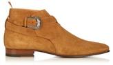 Saint Laurent Point-toe Suede Boots