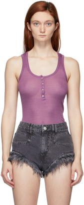 Isabel Marant Purple Louisali Tank Top