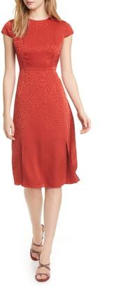 Ted Baker Leopard Jacquard Dress