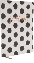 Fringe Black Dots Journal