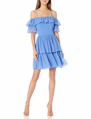 Adelyn Rae Women's Rosalie Woven Pleated Dress