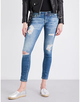 True Religion Casey skinny low-rise jeans