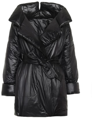 Norma Kamali Sleeping Bag belted nylon coat