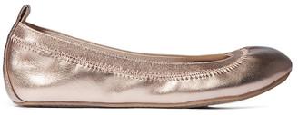 Yosi Samra Girls' Ballet Flats ROSEGOLD - Rose Gold Leather Ballet Flat - Girls