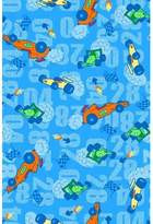 Graco SheetWorld Fitted Pack N Play Sheet - Race Cars Blue - Made In USA - 27 inches x 39 inches (68.6 cm x 99.1 cm)