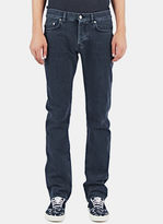 Saint Laurent Men's Straight Fit 5 Pocket Low Waisted Jeans From Aw14 In Black