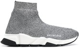 Balenciaga metallic Speed sneakers
