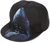 Givenchy shark print cap - men - Acrylic/Polyamide - One Size