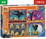Ravensburger Despicable Me 3 100 Piece Puzzles - 4 Pack