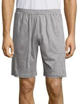 Saks Fifth Avenue COLLECTION Heathered Cotton Shorts