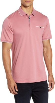 Ted Baker Slim Fit Solid Polo