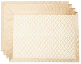 Ann Gish Dupione Silk Quilted Placemats (Set of 4)