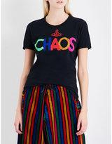 Anglomania Chaos cotton-jersey T-shirt