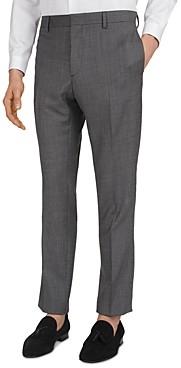 The Kooples Textured Suit Pants