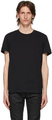 Balmain Black Embossed Logo T-Shirt