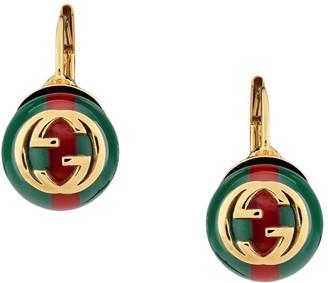 Gucci Web earrings
