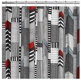 Ruutukaava Shower Curtain