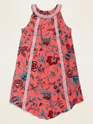 Old Navy Printed Crinkle-Crepe Swing Sundress for Toddler Girls