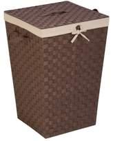 Honey-Can-Do Decorative Woven Laundry Hamper