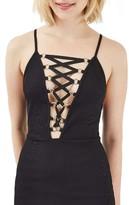 Topshop Women's Corset Minidress