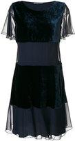 Alberta Ferretti layered flared dress