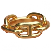 Hermes Gold Metal Ring