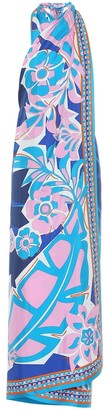 Emilio Pucci Beach Floral twill dress