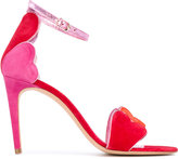 Jean-Michel Cazabat heart sandals