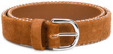 Golden Goose Deluxe Brand buckle belt - women - Suede - 90