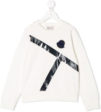 Moncler Enfant Two Tone Sweatshirt