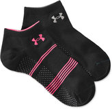 Under Armour Women's Grippy No Show Socks 2 Pack