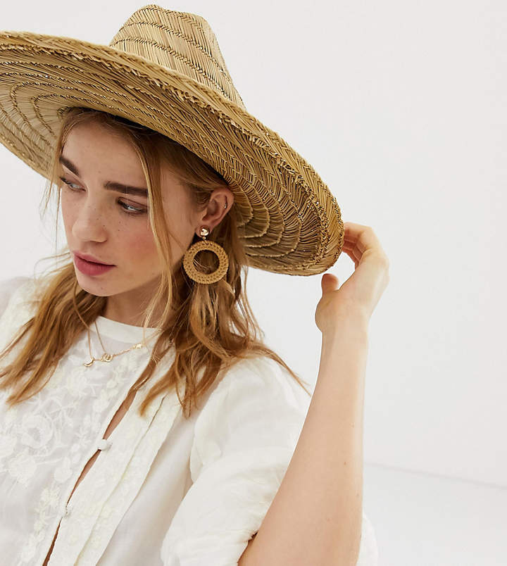 3f82e1b0ca5587 Straw Beach Hats - ShopStyle