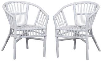 Safavieh Adriana Rattan Accent Chair