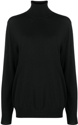 Barbara Bui Roll-Neck Merino Jumper
