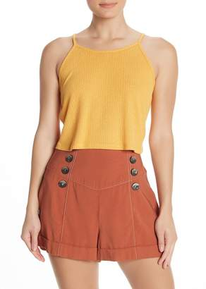 Topshop Knitted Halter Top
