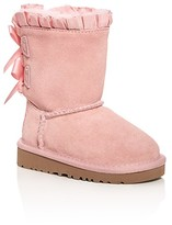 UGG Girls' Bailey Bow Ruffle Boots - Walker