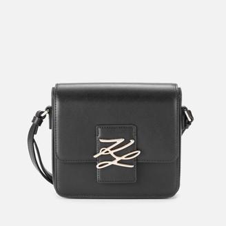 Karl Lagerfeld Paris Women's K/Autograph Small Cross Body Bag - Black