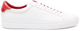 Givenchy Urban Street Leather Trainers - Mens - White Multi