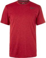 Nike Training Breathe Mélange Dri-Fit T-Shirt