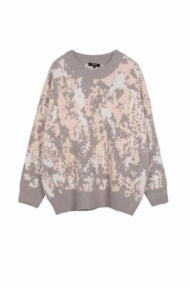 FRNCH Nadera 1 Ms 18 220 Pullover Pink Grey - S/M