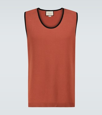Gucci Exclusive to Mytheresa - cotton tank top