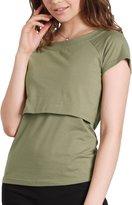 Sweet Mommy Basic Maternity and Nursing Tee Shirts BKXXL