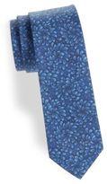Barbara Blank Tonal Floral Cotton Tie