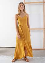 And other stories Belted Maxi Dress