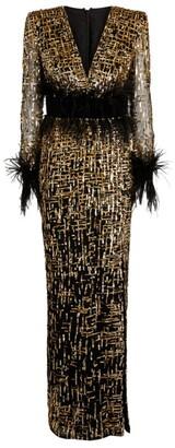 ZUHAIR MURAD Sequin-Embellished Gown