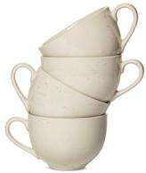 Threshold Rhys Speckle Mug Set of 4 Beige