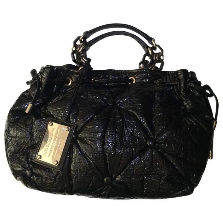 Dolce & Gabbana Black Patent leather Handbag